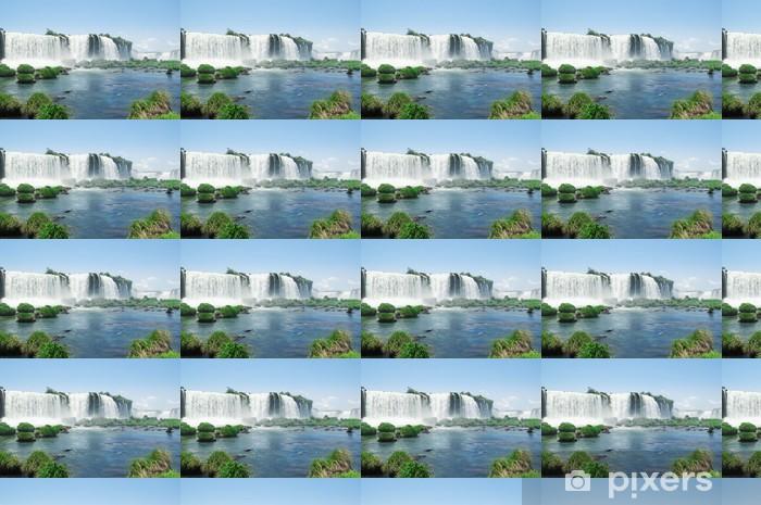 Vinyl behang, op maat gemaakt Iguazu Falls - Amerika