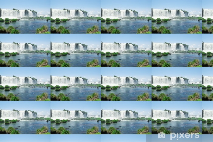 Papel pintado estándar a medida Cataratas iguazu - América