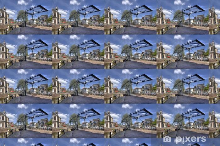 Tapeta na wymiar winylowa Most zwodzony w Holandii - Europa