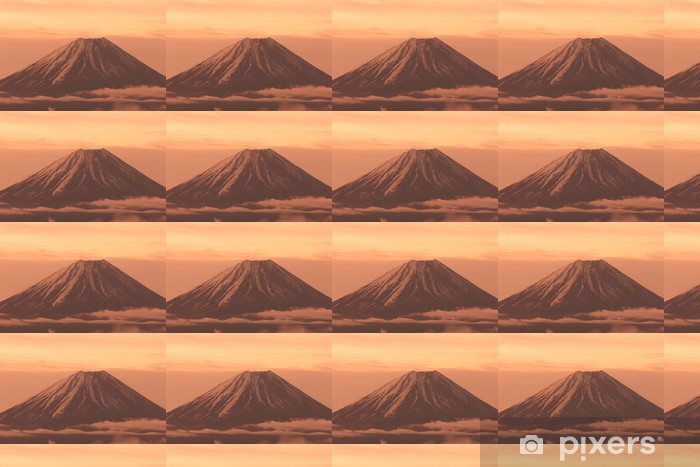 Vinyltapete nach Maß Fuji von Kushigatayama - Berge