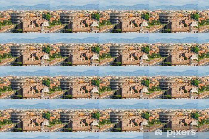 Papier peint vinyle sur mesure Le Colisée de Rome - Italie - Thèmes