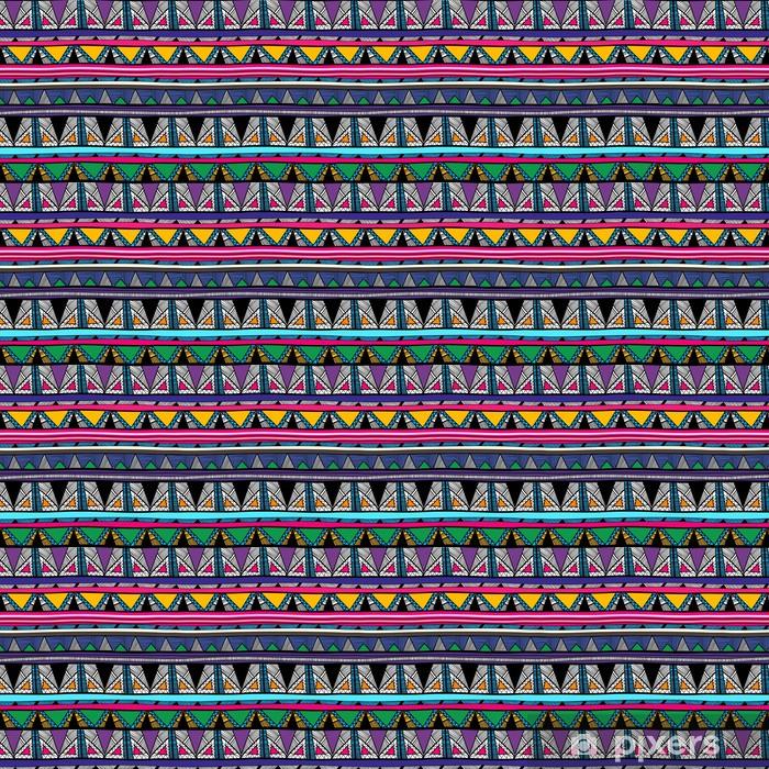 Papier peint vinyle sur mesure Texture tribal - Arrière plans