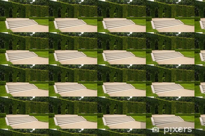 Vinyltapete nach Maß Treppen Garten des Rodin-Museum in Paris - Öffentliche Gebäude