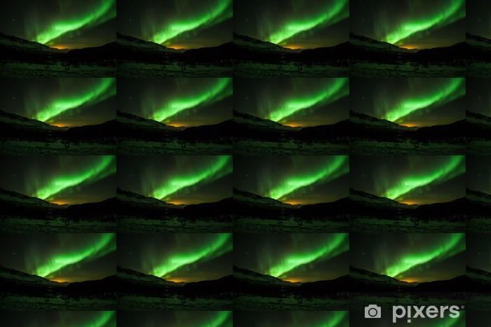 Papel pintado estándar a medida Aurora boreal en Suecia - Temas