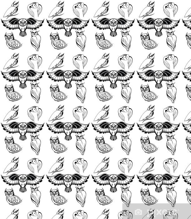 Tapeta na wymiar winylowa Owls dekoracyjne - Sztuka i twórczość
