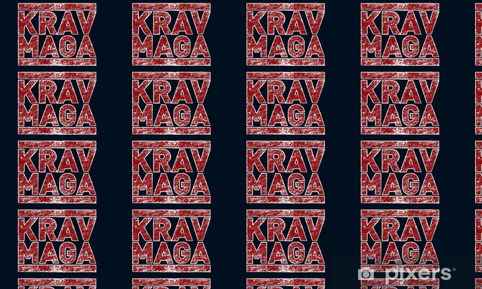 Krav Maga Wallpaper Vinyl Custom Made