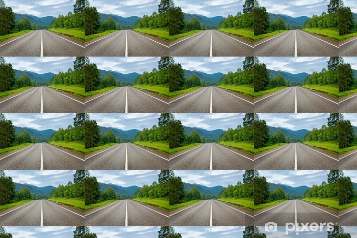 Papier peint vinyle sur mesure Country road - Thèmes