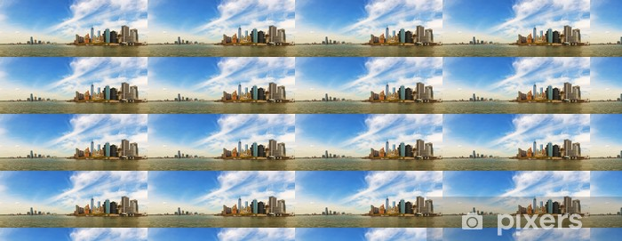 Papier peint vinyle sur mesure New York City paysage urbain panorama - Amérique
