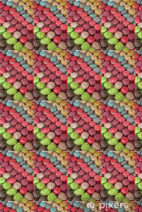 Papier peint vinyle sur mesure Macarons - Thèmes