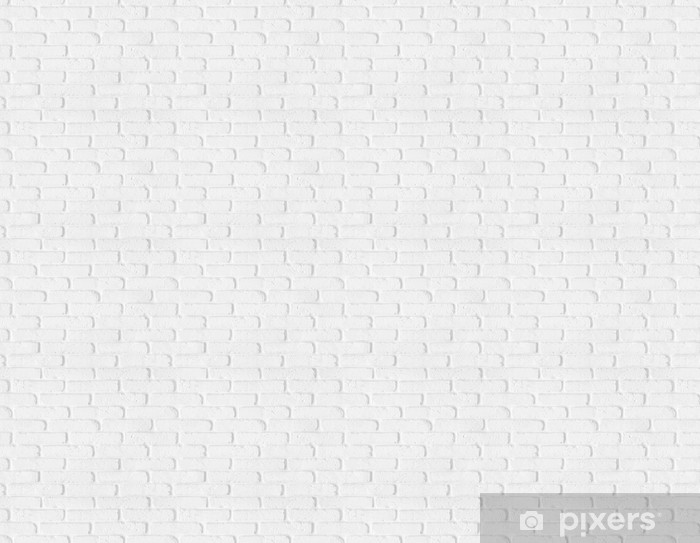 Seamless White Brick Wall Texture Vinyl Custom Made Wallpaper Backgrounds
