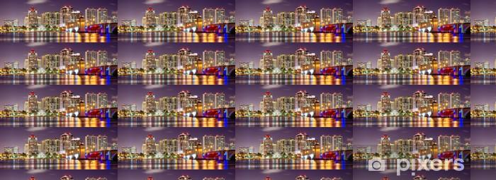 Tapeta na wymiar winylowa West Palm Beach Skyline - Ameryka