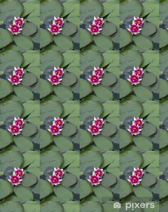 Papier peint vinyle sur mesure Lotus - Fleurs