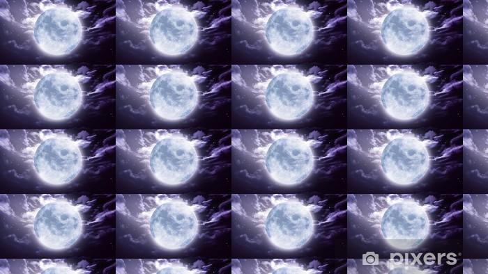 Papier peint vinyle sur mesure Grande lune Halloween - Thèmes
