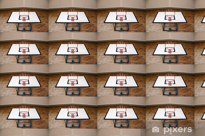Papier peint vinyle sur mesure Panier de basket de dessous - Matchs et compétition