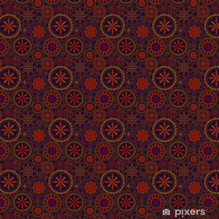Vinylová tapeta na míru Květiny bezešvé vzor - Pozadí