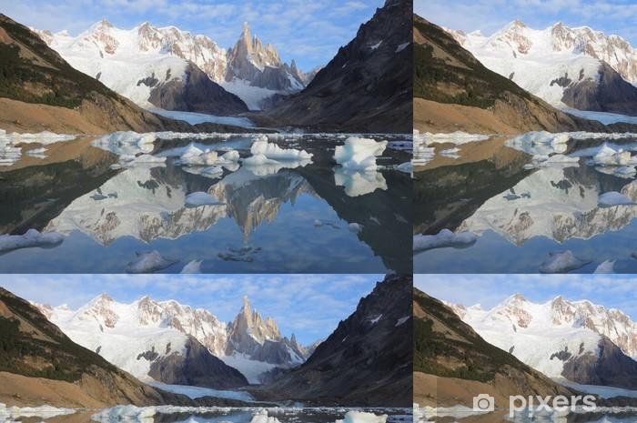 Cerro Torre mountain. Los Glaciares National park. Vinyl Wallpaper - America