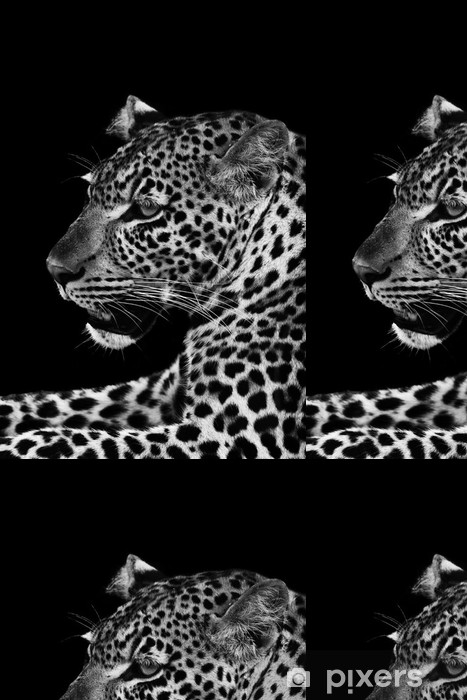 Vinyltapet Leopard - Afrika
