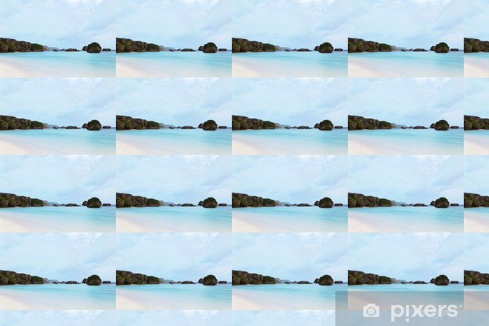 Carta da parati in vinile su misura 保 良 漁港 の 朝 - Vacanze