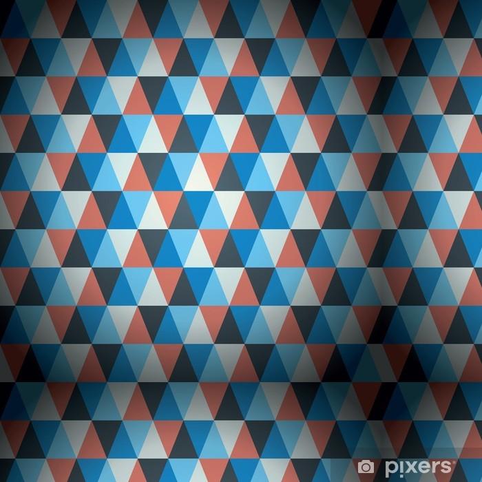 Vinylová Tapeta Moderní trojúhelník vzor vektoru pozadí - Pozadí