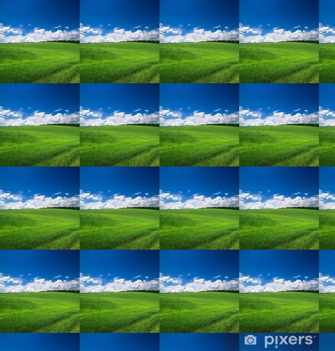 Tapeta na wymiar winylowa Green field - Niebo