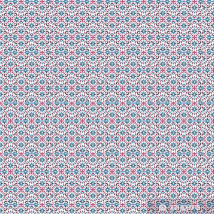 Vinyl behang, op maat gemaakt Abstract vector naadloze patroon, moderne, stijlvolle textuur. - Achtergrond