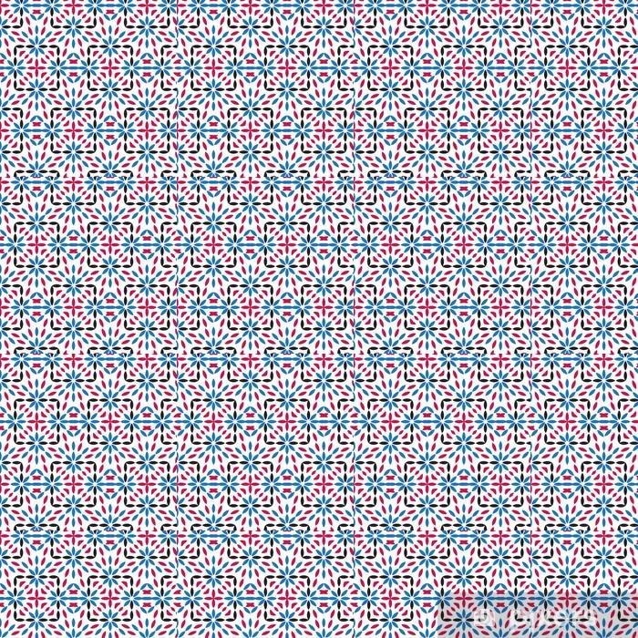 Papel de parede em vinil à sua medida Abstract vector seamless pattern, modern stylish texture. - Fundos