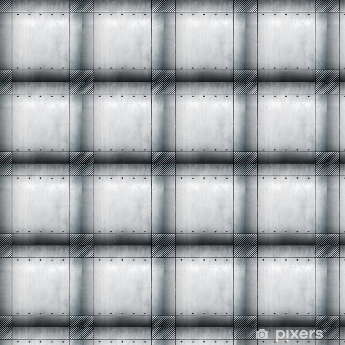 Vinyltapete nach Maß Metall-Vorlage - Rohstoffe