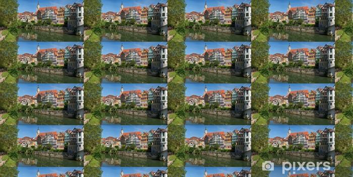 Papier peint vinyle sur mesure Paysage urbain de Tübingen - Europe