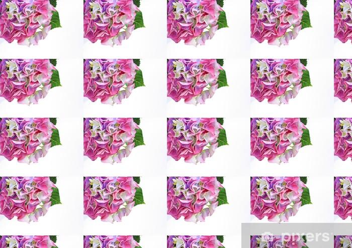 Papier peint vinyle sur mesure Belles fleurs hydranea près - Fleurs