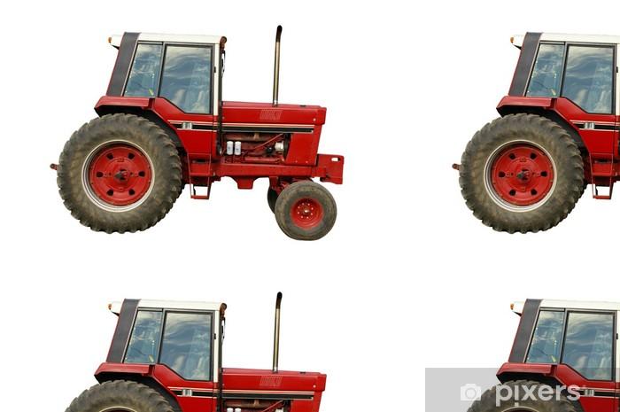 Vinylová Tapeta TRACTEUR AGRICOLE ref1882 - Na cestě