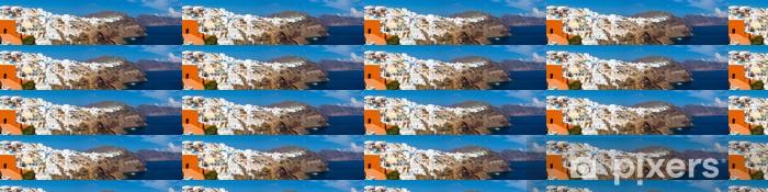 Vinylová tapeta na míru Oia Santorini, Řecko - Evropa