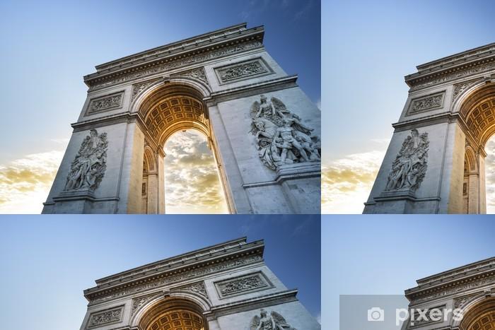 Vinylová Tapeta Arc de Triomphe, Paříž - Evropská města