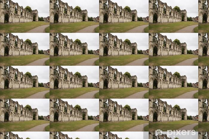 Tapeta na wymiar winylowa Abbey Mariacki, York, Wielka Brytania - Europa