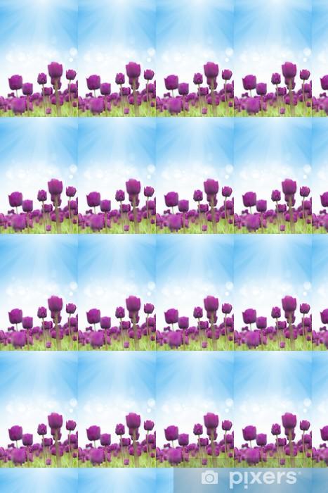 Tapeta na wymiar winylowa Wiosenne tulipany - Tematy