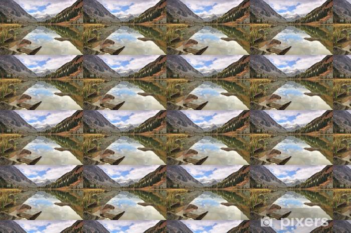 Vinylová tapeta na míru Mountain Lake - Hory
