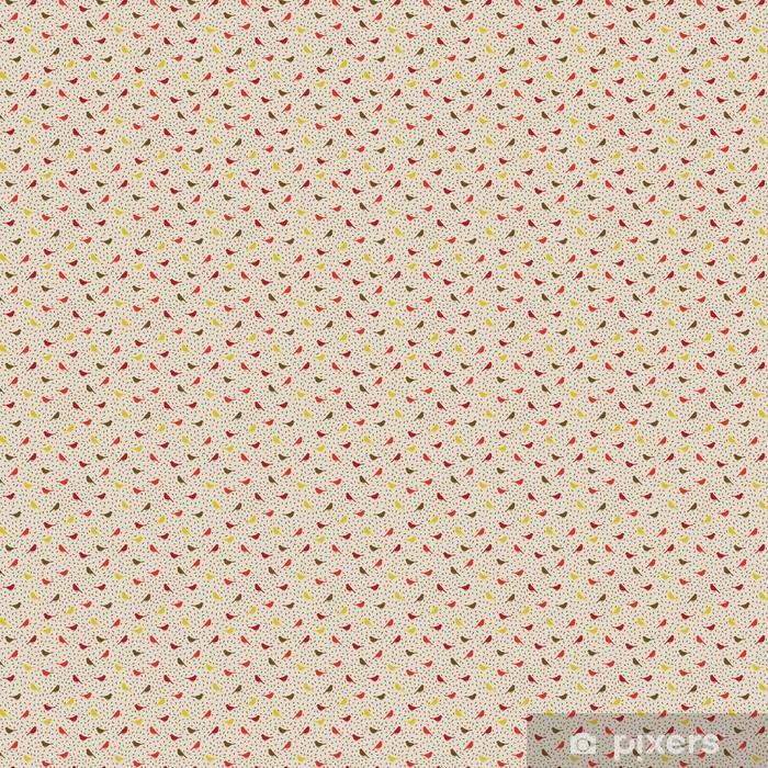 Birds seamless pattern. Colorful texture Vinyl custom-made wallpaper - Styles