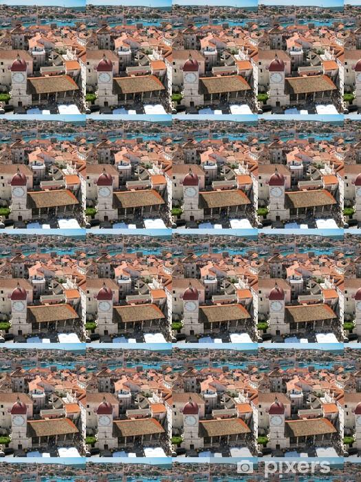 Vinylová tapeta na míru Trogir (Trau), Chorvatsko, panorama - Evropa