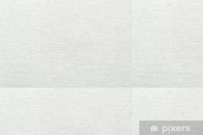 Vinylová Tapeta Prádlo přirozené bílé textury pozadí - Struktury
