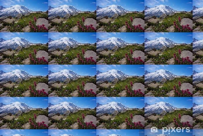 Tapeta na wymiar winylowa Mount Rainier z obszaru sunrise - Ameryka