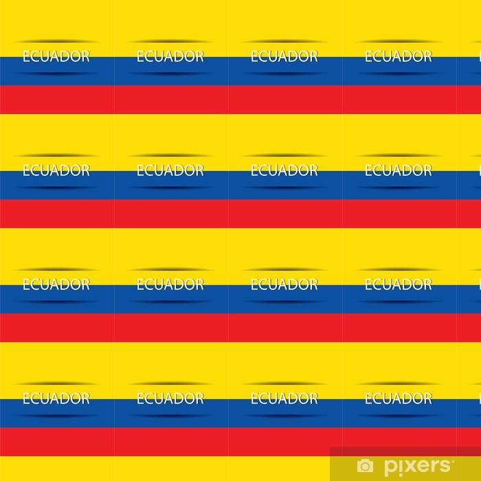 Papier peint vinyle sur mesure Ecuador - Amérique