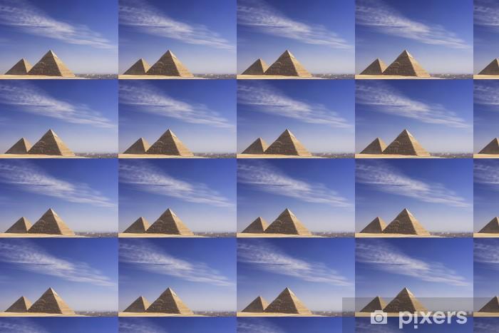 Tapeta na wymiar winylowa Wielkie Piramidy w Gizie, Kair - Afryka
