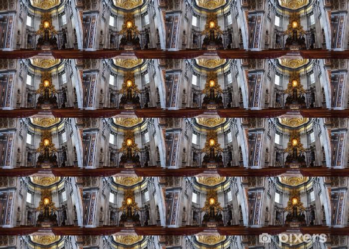 Papier peint vinyle sur mesure Basilique Saint Pierre au Vatican - Europe