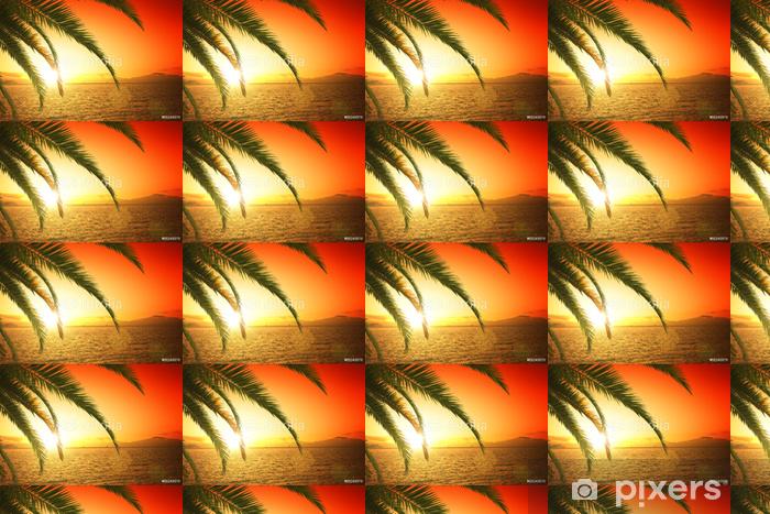 Tapeta na wymiar winylowa Piękny zachód słońca - Woda