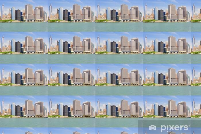 Tapeta na wymiar winylowa Wieżowce Manhattanu - Miasta amerykańskie