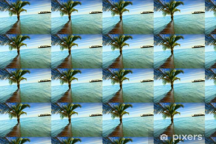 Tapeta na wymiar winylowa Tropikalna wyspa - Wakacje