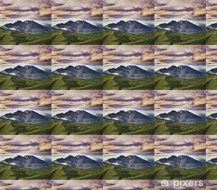 Vinyltapete Berglandschaft - Berge