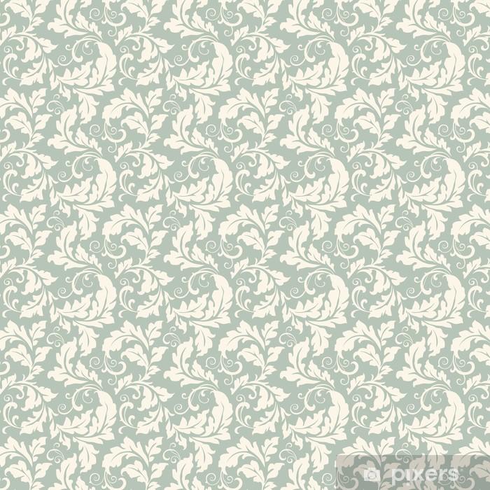 Papier peint vinyle sur mesure Seamless floral - Styles