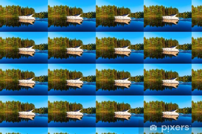 Vinyltapete nach Maß Sommer in Finnland - Wassersport