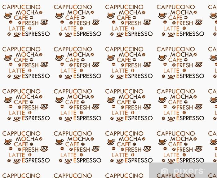 Tapeta Coffee Krzyżówka Na Wymiar
