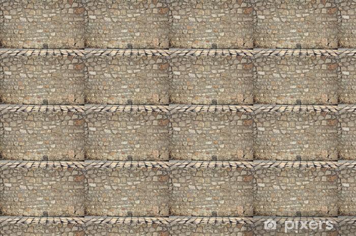 Papier peint vinyle sur mesure Parete dans pietra - Monuments